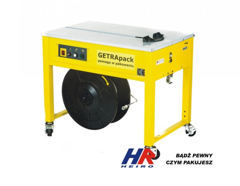 Semi automatic strapping machine GETRApack 6-15 mm