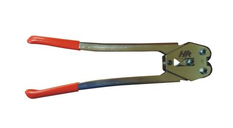 Handheld manual strapping tool for 16 mm PP band