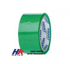 Adhesive tape 48 mm width/ acrylic, green / 50 m