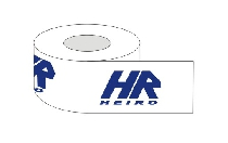 Adhesive tape with 1 colour printed logo 60 m rubber / 360 pieces