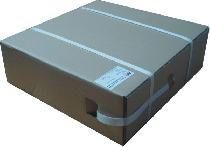 Polypropylenband PP 12 x 0,60/ im Karton/1000 m/weiß
