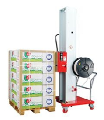 Halbautomatische Paletten-Verpackungsmaschine (horizontal) GETRApack MINI 7
