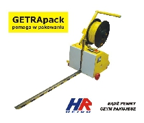 Semi – auto pallet strapping machine MINI VERTI (for 12 mm band)