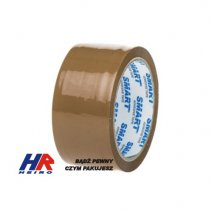 Adhesive tape 48 mm x 60 m / rubber, brown