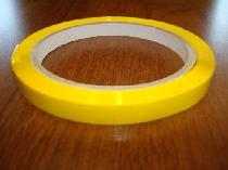 Selbstklebendes Band für 9 mm Siegelgeräte / 66 m gelbe