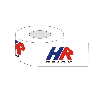 Adhesive tape with 3 colour printed logo 60 m rubber / 360 pieces