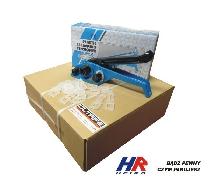 Verpackungsset mit Spanner, Kunststoffklammern und 12 mm Band