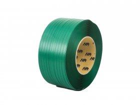 Polypropylene band PP 16 x 0.60/200/1800 m/ bottle green