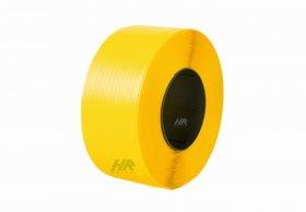 Polypropylene band PP 19 x 0.90/200/1100 m/yellow