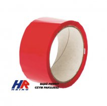 Adhesive tape 48 mm width/ acrylic, red / 50 m