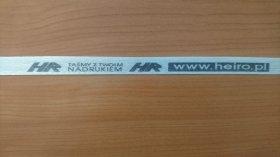 Polyesterband Typ WG  40 / 13 mm 1100 m mit aufdruck